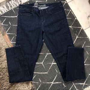 "MADEWELL 9"" High Rise Slim Straight Leg Jean"